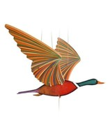 Duck Mallard Flying Mobile Wood Colombia Fair Trade New - $47.47