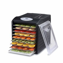 """Samson """"Silent"""" 9 Stainless Steel Tray Dehydrator with Digital Controls - £133.87 GBP"""
