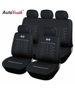 AutoYouth® Sports Car Seat Covers Universal Fit Most Brand Vehicle Seats... - $52.62