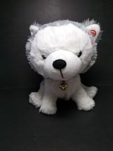 "Hallmark Interactive Story Buddy Jingle All The Way 9"" Husky Dog Plush N... - $16.82"