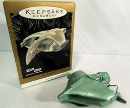1995 Star Trek Next Gen Romulan Warbird Hallmark Keepsake Ornament Light... - $4.94