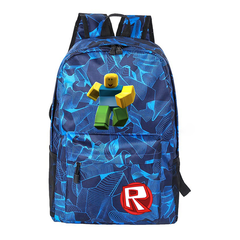 Primary image for Roblox Kid Adult Camouflage Backpack Daypack Schoolbag Bookbag M