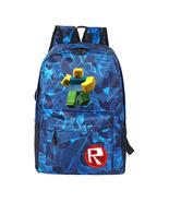 Roblox Kid Adult Camouflage Backpack Daypack Schoolbag Bookbag M - $22.99