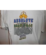 Vintage 90s Absolute Brass Balls Saloon Ocean City MD T-Shirt L/XL - $14.99