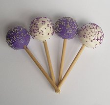 Cake Pops Purple and White Set of 4 - Perfect for 18 Inch American Girl Dolls - $9.99