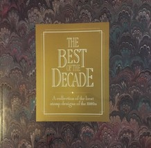 1980's BEST OF THE DECADE COLLECTION BOOK, GREAT PRICE! - $15.00