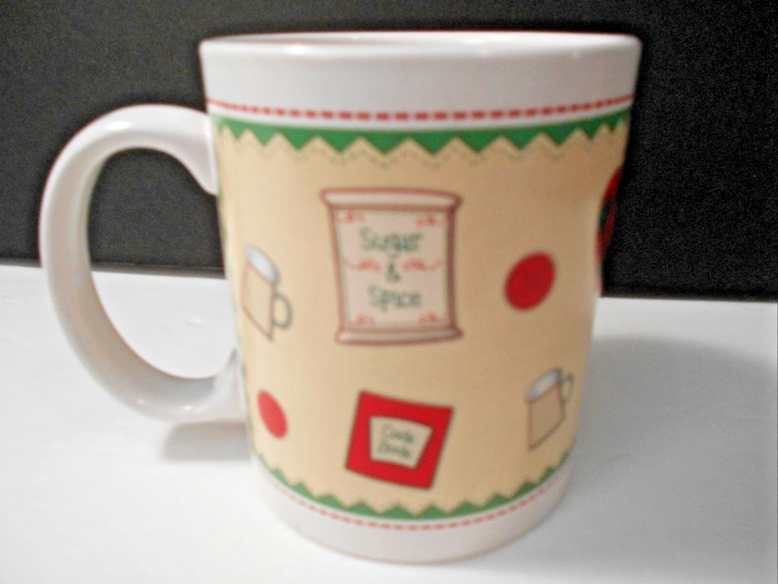 "Primary image for Better Homes Coffee Mug Cup 4013FY07 Sugar & Spice 3.75"" x 3.25"" CUTE"