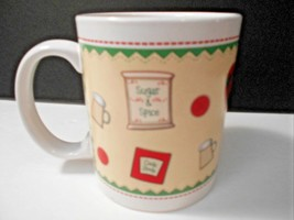 "Better Homes Coffee Mug Cup 4013FY07 Sugar & Spice 3.75"" x 3.25"" CUTE - $10.39"