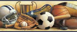 Hansel Sand Classic Sports Portrait Wallpaper Border Chesapeake BBC94111B - $20.78