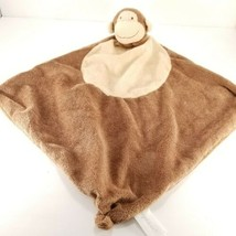 "Angel Dear Knotted Corner Security Blanket Lovey Brown Tan Monkey 13"" sq... - $13.36"
