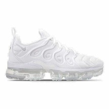 Men's Nike Air VaporMax Plus Running Shoes White/Pure Platinum 924453 100 - $260.13
