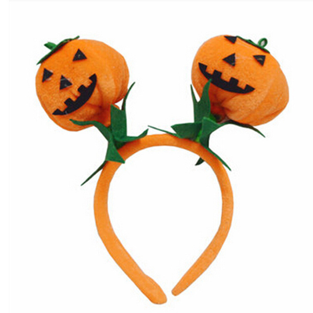 Mpkin halloween hair hoop clasp accessories headband ornaments make your baby more charming cute