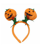 Children Baby Pumpkin Halloween Hair Hoop Clasp Accessories Headband Orn... - ₹426.07 INR