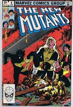 New Mutants #4 ORIGINAL Vintage 1983 Marvel Comics   - £7.50 GBP