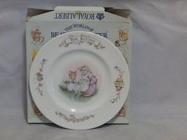 Royal Albert The World of Beatrix Potter Tom Kitten Plate in box - $21.78