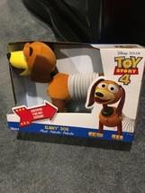 "Rare Disney Pixar Toy Story 4 2018 Slinky Dog 12"" Plush Toy NEW IN BOX - $36.63"