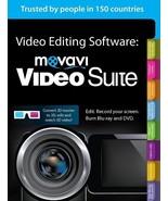 Movavi Video Suite 2021 For MAC Convert Videos , Edit MPEG AVI WMV  - $49.95