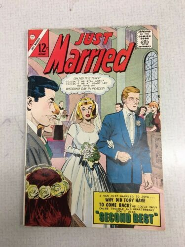 Just Married #45 1966 12 cent vintage Comic Jan 1966  romance  - $19.99
