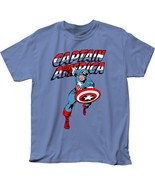 Official Captain America Red White & Blue Logo Shield T-shirt S M L XL 2... - £11.30 GBP+