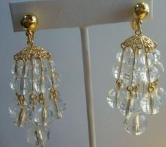 Vintage chandelier clip-on earrings - $22.76