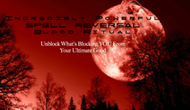 POWERFUL SPELL REVERSAL BLOOD RITUAL - IF YOUR SPELLS AREN'T WORKING FOR... - $866.76