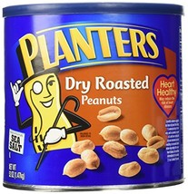 Planters Dry Roasted Peanuts Made With Sea Salt 52 Ounce Container - $25.14