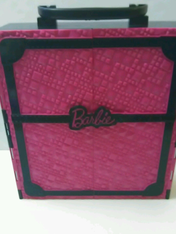 ... FASHIONISTA Barbie Doll Storage Case Pink U0026 Black   MATTEL 2011