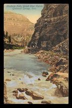 Shoshone Falls Postcard Colorado Glenwood Springs Grand River Canon  CO PC - $12.99
