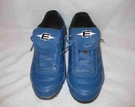 Mens Size 9 Blue Easton BASEBALL Cleats Shoes - $28.84
