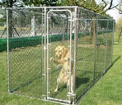 High Tall Garden Grass  Dog Kennel Cage Play Exersise Kennel Run Outdoor... - $318.66