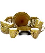 Elamas Cleo 16 Piece Stoneware Dinnerware Set - $102.10