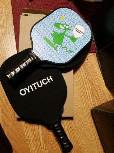 2 OYITUCH Pickle Ball Paddles, with covers NEW