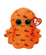 TY Beanie Boos Medium Ghoulie the Ghost Soft Toy Stuffed Plush Halloween... - $13.79