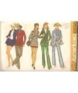 Vintage 1971 Pants, Shorts & Jacket Misses Size 14 Pattern Simplicity 95... - $4.99