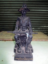 SO Big RARE!Ancient Pra-Chao-Taksin Great King of Thailand Statue Buddha Amulets - $99.99