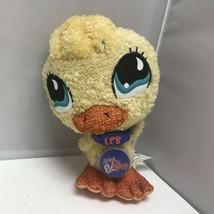 Littlest Pet Shop Hasbro Duck Virtual Interactive Pet Yellow Stuffed Plu... - $39.99