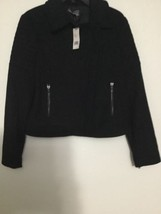 Vince Sz M VX27990653 Black Wool Blend NWT  - $99.84