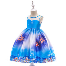 New Arrival Floral Printed Christmas Girls Dress 2019 Cheap Flower Prom ... - $23.00