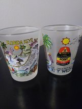 "Collector Shot Glass Set ""Florida Keys"" Made in China image 2"