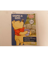 Disney Winnie the Pooh Shapes Kids Activity Book By Bendon School Skills... - $2.95