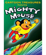 Cartoon Treasures Featuring Mighty Mouse DVD VIDEO MOVIE Wolf Goofy Bars... - $9.99