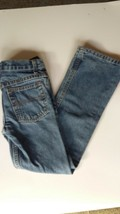 Blue jeans size 7 boys boot cut 23x23 1/2 - $9.95