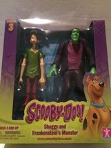 """SCOOBY-DOO SHAGGY AND FRANKENSTEIN'S MONSTER"" ACTION FIGURES NEW - $11.83"
