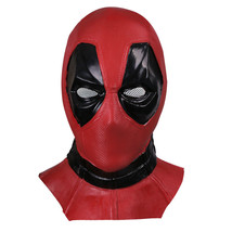 Deadpool Deluxe Latex Mask Wade Wilson X-Men Costume Comic Con - $51.22 CAD