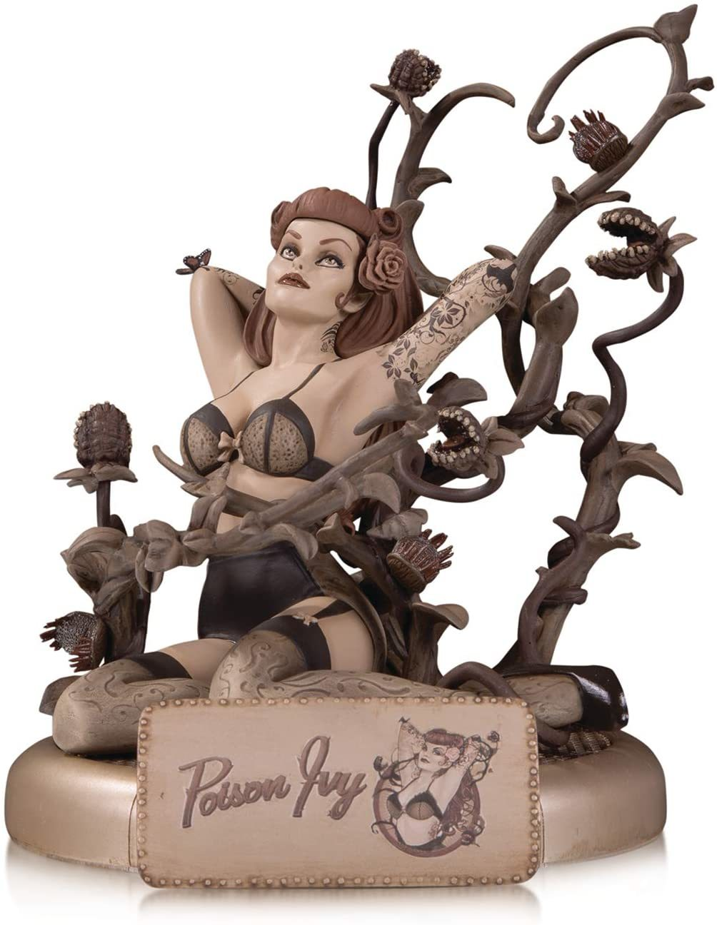 DC Comics Bombshells Poison Ivy (Sepia Variant) Limited Edition Statue Brand New - $199.76