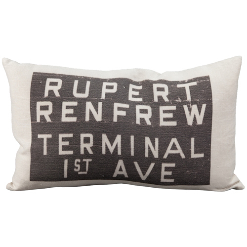 Primary image for Pillow Decor - Rupert Bus Scroll Throw Pillow