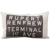 Pillow Decor - Rupert Bus Scroll Throw Pillow - $69.95