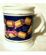 CLARK'S THREAD COFFEE CUP- CORNER STORE PORCELAIN MUG COLLECTION 1982 CO... - $7.95 CAD
