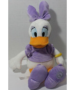 Disney Store Exclusive DAISY IN PURPLE SHIRT OUTFIT AND BOW Stuffed Plus... - $18.70