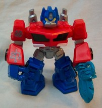 "Hasbro Transformers Rescue Bots Heroes Optimus Prime 3 3/4"" ACTION FIGUR... - $14.85"